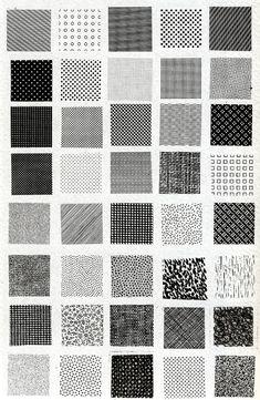 """immagine tratta da """"Design e comunicazione visiva"""" di Bruno Munari, Editori Laterza, Bari, 1993."""