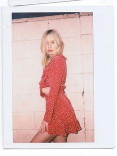 Diane Dress in Red Star | Réalisation