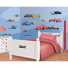 Muursticker Cars Disney Decor Kit