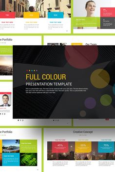 Full Color PowerPoint Template