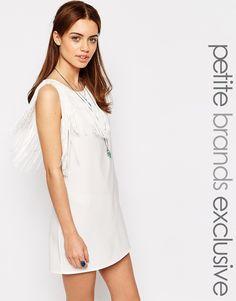 Glamorous Petite Fringed Shift Dress