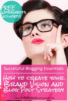 Discover how and create your own brand vision and Blog Post Strategy and Style Guide to take your blog posts to the next level!