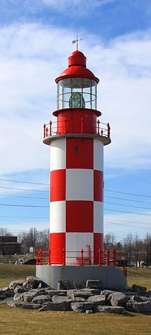 Cape North Lighthouse - Ottawa, Ontario, Canada. Once stood at Cape Breton from 1908 - 1980.