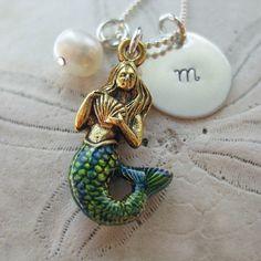 Mermaid necklace!