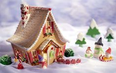 gingerbread house christmas - Home Decorating Ideas – Interior Design Ideas on Modern Residential Design