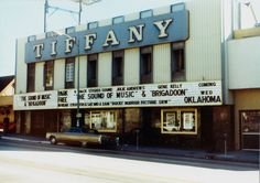The Tiffany theater Sunset Strip - saw so many movies here.  Remember Rocky Horror late nights?  :)
