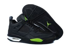 new arrival 08a09 e361a Air Jordan 4 Temporal Rift Black Green