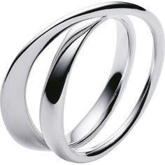Sterling Silver MÖBIUS ring by Georg Jensen (georgjensen.com)