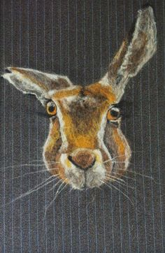 Needle Felted Fine art Hare