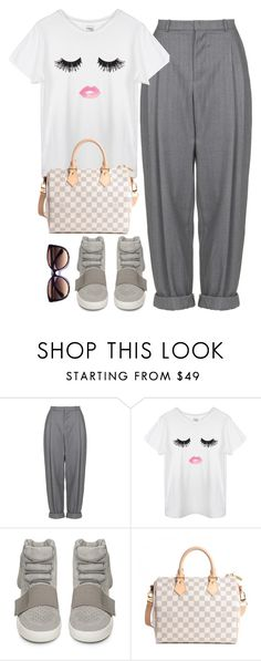 """""""Cozy"""" by nadiaamrc ❤ liked on Polyvore featuring Boutique, adidas, Louis Vuitton and Kate Spade"""