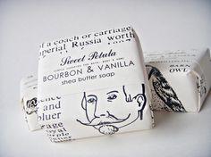 Bourbon & Vanilla Shea Butter Soap Bar