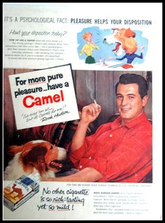 Vintage Camel Cigarettes Advertising with by AntiqueAlchemists, $13.00