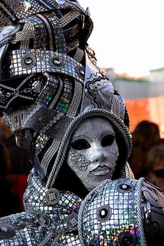 From another world by Bakur Venetian Carnival Masks, Mardi Gras Carnival, Carnival Of Venice, Venetian Masquerade, Masquerade Masks, Venice Carnivale, Venice Mask, Gala Themes, Costume Venitien