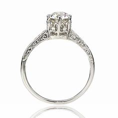 LJN $2950 Replica Edwardian Engagement ring - 2597-08
