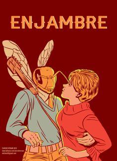 Enjambre Poster by Salvador Verano Calderón, via Behance