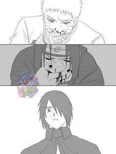 Naruto Vs Sasuke, Naruto Uzumaki Shippuden, Sasunaru, Anime Naruto, Naruto Sad, Naruto Shippuden Characters, Naruto Comic, Naruto Cute, Narusasu