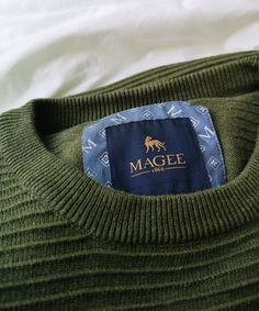 Staying comfortable is all about layering, and our cotton knitwear is perfect for cool spring mornings. Mens Jumpers, Weekend Wear, Workout Shirts, Mornings, Layering, Knitwear, Crew Neck, Knitting, Spring
