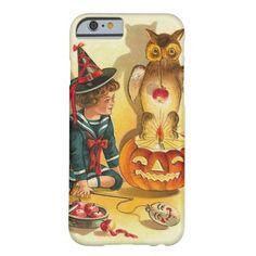 Witch Owl Jack O Lantern Pumpkin iPhone 6 Case