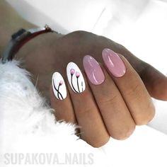 ideas for nails 2018 oval Nail Polish, Shellac Nails, My Nails, Trendy Nails, Cute Nails, Nails 2018, Oval Nails, Manicure E Pedicure, Nail Swag
