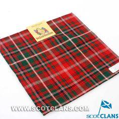 Clan MacDougall Tartan Handkerchief