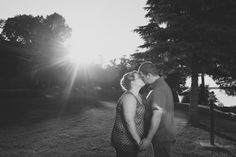 Krista and Chris - Ottawa Wedding Magazine  Engagement Photos #Arnprior #Ottawa #Canada #MondaysWithMacPhotography #photography #weddings #Sun #BlackAndWhite #Kiss http://www.mondayswithmacphotography.com/