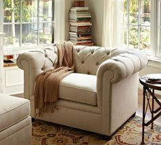 Chesterfield Armchair | Pottery Barn