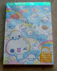 Kawaii Japan stationery booklet H by ThisIsBlythe on Etsy, $5.00