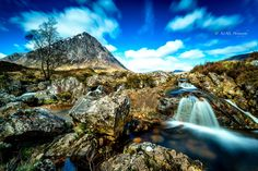 Photograph A marriage made in Scotland by Kevin Ainslie on Scotland, Waterfall, Marriage, River, How To Make, Photograph, Outdoor, Valentines Day Weddings, Photography