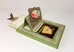 Free templates and tutorial amazing slider easel card for ritter sport bars