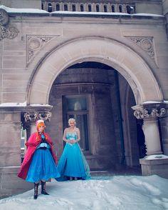 This Frozen Photo Shoot is Super Impressive | Disney Style