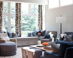 Spaces Decorating A Navy Blue Couch Design, Pictures, Remodel, Decor and Ideas -