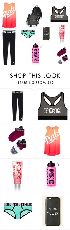 """Summer Outfit"" by jazmine-1222 ❤ liked on Polyvore featuring Victoria's Secret"