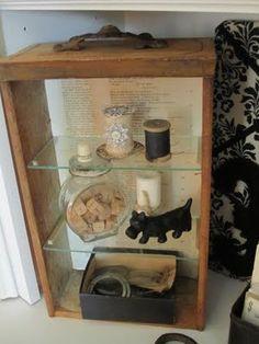 Sweet drawer shelf!