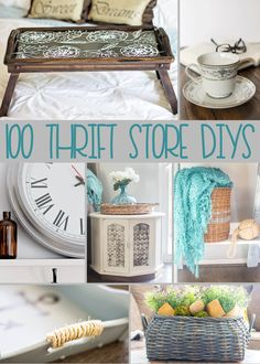100+ Thrift Store DIY Projects you'll LOVE! | Thrifting DIYs