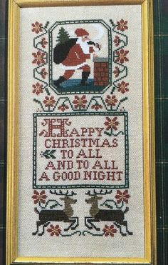 The Prairie Schooler Christmas Samplers II Cross Stitch Pattern No 73 Chart…