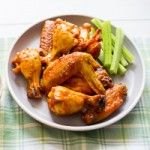 Garlicky Buffalo Wings