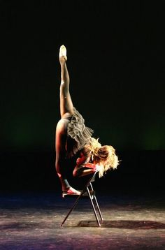 Photo courtesy of Mikki Schaffner. This is Ruth Kennedy. Beautiful. NKU Evening of Dance 2011.