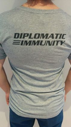 DIPLOMATIC IMMUNITY Infamous quote from 1989 buddy-cop action movie | Lethal Weapon 2 Starring Mel Gibson as Martin Riggs and Danny Glover as Roger Murtaugh.