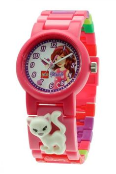 LEGO 9005220 – Reloj analógico de cuarzo para niña con correa de plástico, color rosa | Your #1 Source for Watches and Accessories