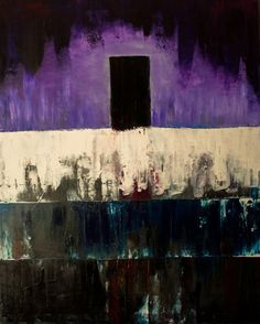 Monolith II Oil and gesso on canvas. 81x65 cm.  http://kainvk.deviantart.com
