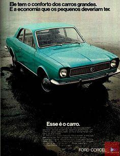 1973 Ford Corcel de Luxo - Brasil