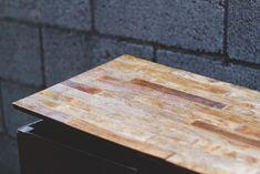 diy paint stick countertop