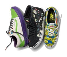 Vans x Toy Story Trainer Collection #toystory #vans #sneakers #trainers