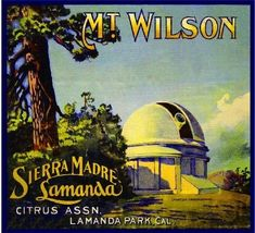 Sierra Madre California Mt Mount Lowe Lemon Citrus Fruit Crate Label Art Print