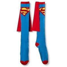 Superman Women's Caped Knee High Sock