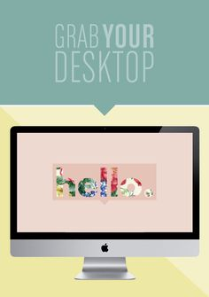 hello wallpaper / by breanna rose favorite site for desktop wallpaper, she does beautiful work