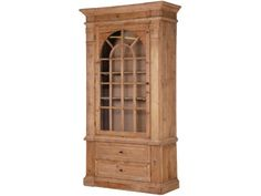 CH Furniture Old Pine Large Glazed Bookcase £1,082.00