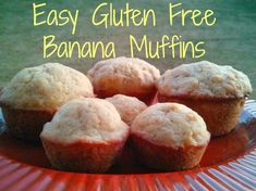 #ad Try this Easy Gluten Free Banana Muffins Recipe this holiday season.  They are tasty, filling, and worth the 25 minutes they take to prepare! #Bake4Better #glutenfree #muffins