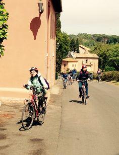 Bike tour outside the walls