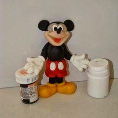 Caketown: Myszka Mickey - figurka na tort